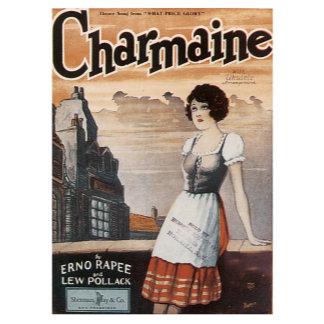 Charmaine - Vintage Song Sheet Music Art