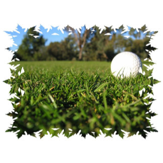 Golf Ball on Course