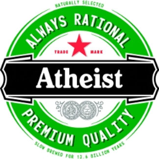 Atheist (imported beer label)