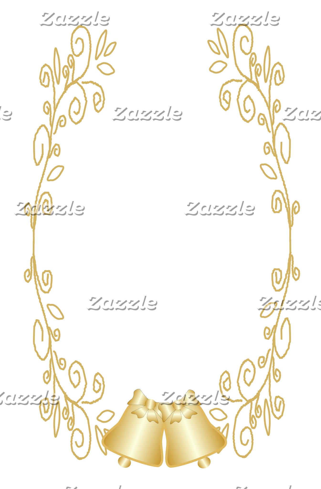 Gold Bells Damask