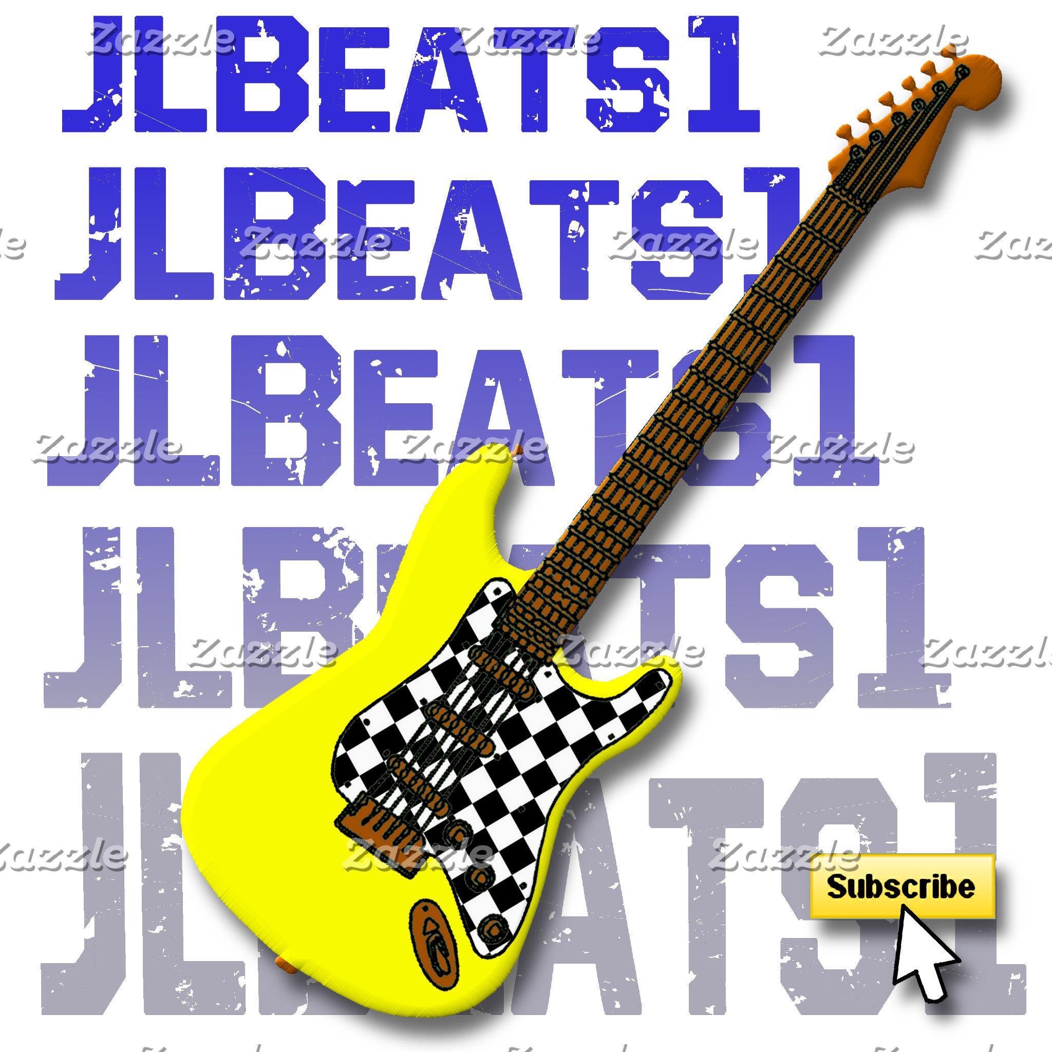 JLBEATS1 Yellow Guitar