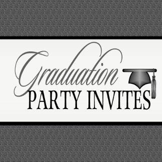 2  GRADUATION PARTY INVITATIONS