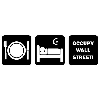 eat sleep occupy wall street