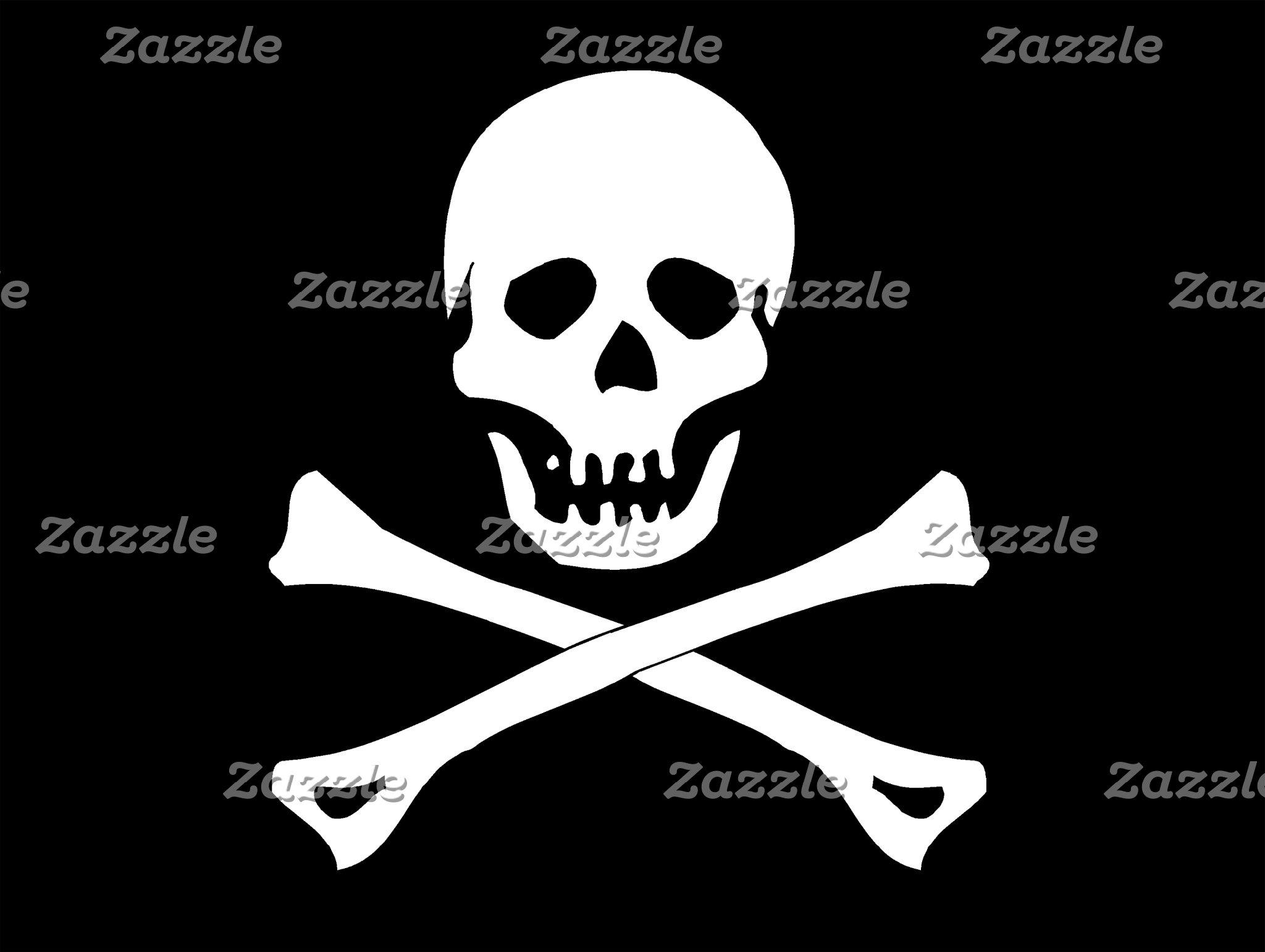 Skull Pirate Flag T-Shirt Gift Cards