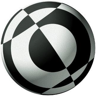 Black and White Footballs