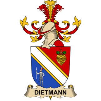 Dietmann Family Crests