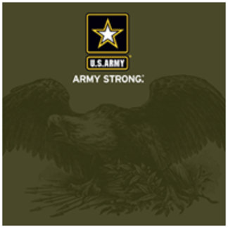 Army Strong Eagle Crest