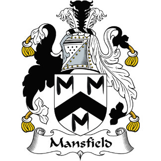 Mansfield Family Crest