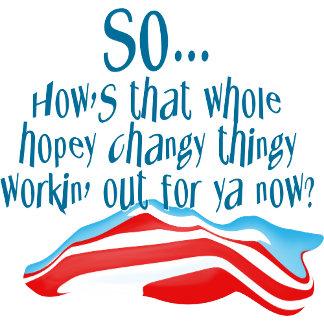 Hopey Changey Obama