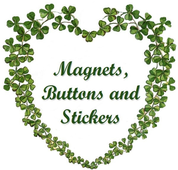 Magnets, Buttons & Stickers