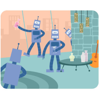 Robot Cocktail Party