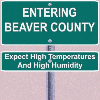 Entering Beaver County