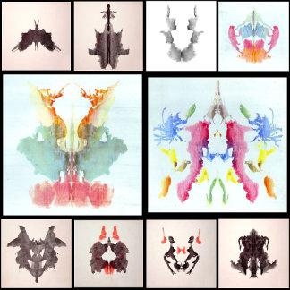 Rorschach Inkblots (60 Designs)