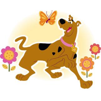 Scooby Following Butterfly