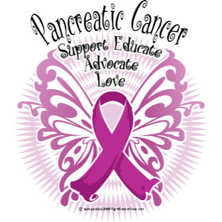 Pancreatic Cancer Butterfly 3