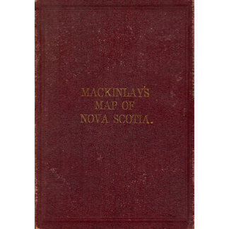 Covers to Mackinlay's map