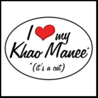 It's a Cat! I Love My Khao Manee