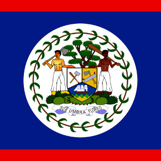 Belize High quality Flag