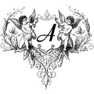 Cupids Monogram Giftware