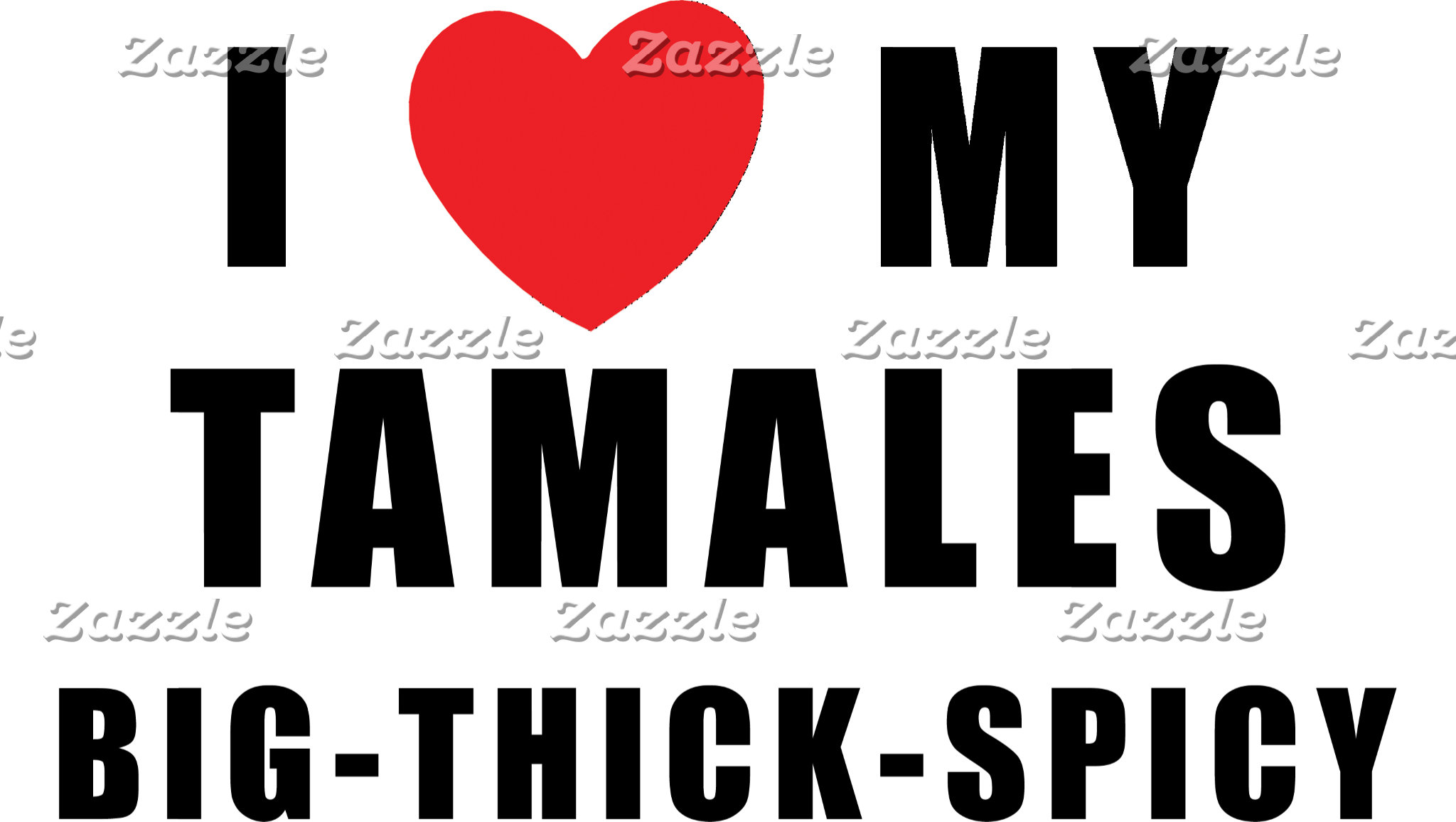 I Love Tamales T-Shirt Gift Cards