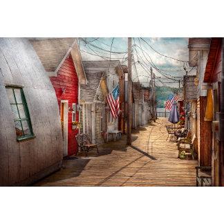 City - Canandaigua, NY - Shanty town