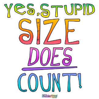 Size DOES Count