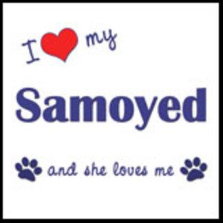 I Love My Samoyed (Female Dog)