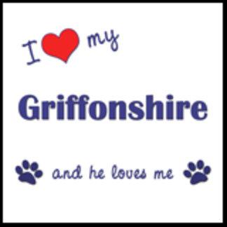 I Love My Griffonshire (Male Dog)