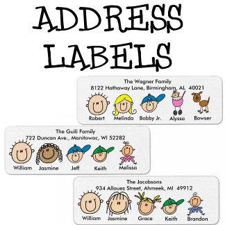 Return Address Labels