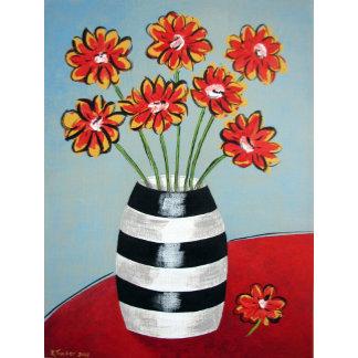 Fleurs & Stripes