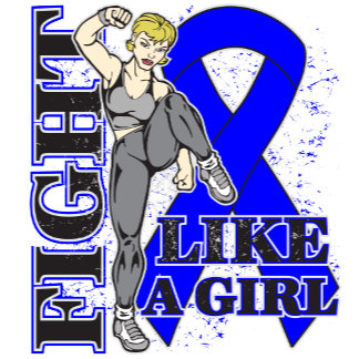 Colon Cancer Fight Like A Girl Kick Butt
