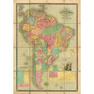 Map of South America 2