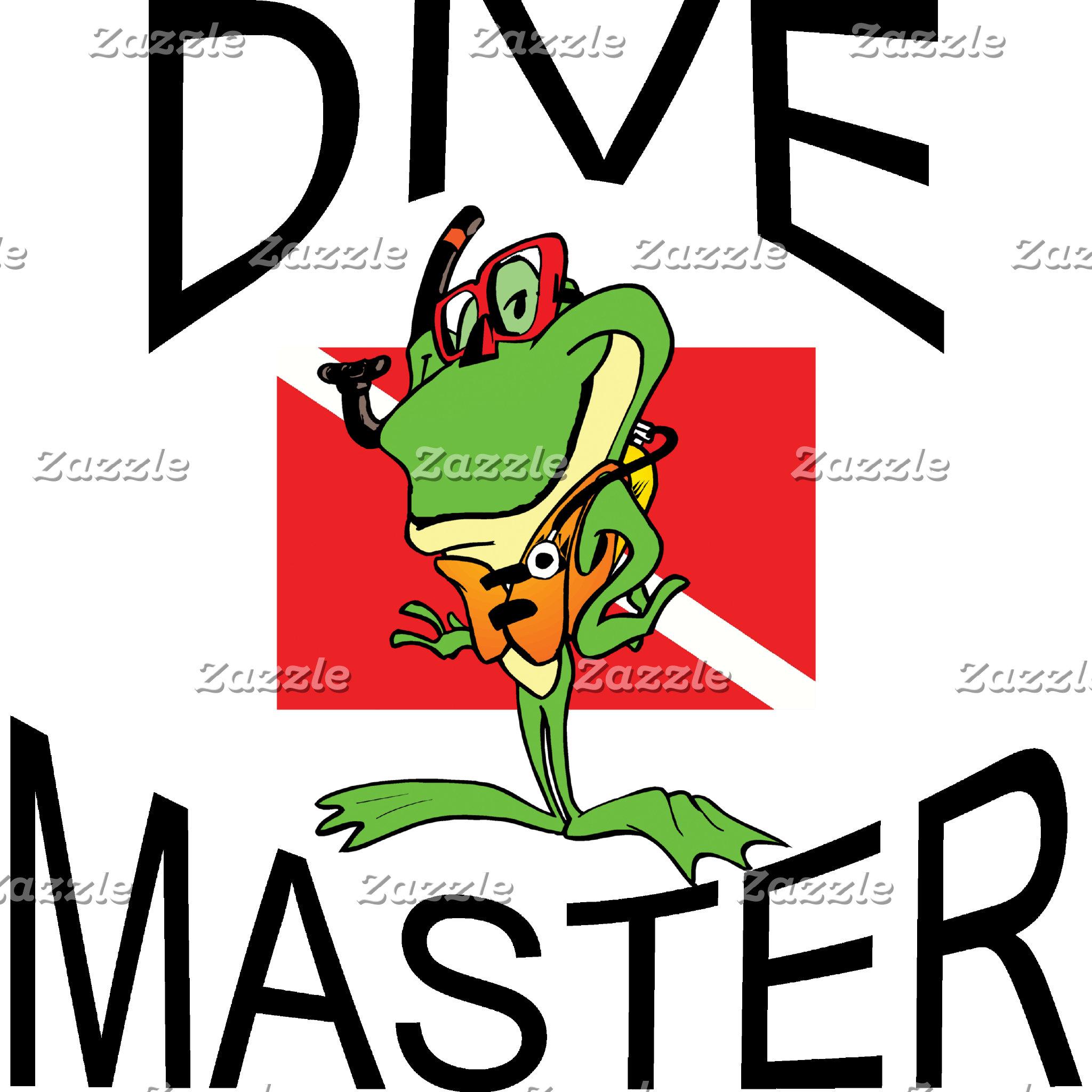 - Funny Dive Master T-Shirts