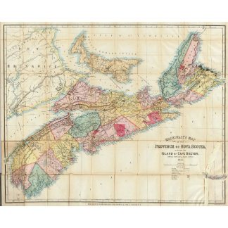 Mackinlay's map of the Province of Nova Scotia 2