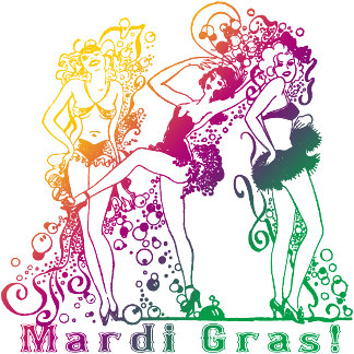 Mardi Gras Showgirls