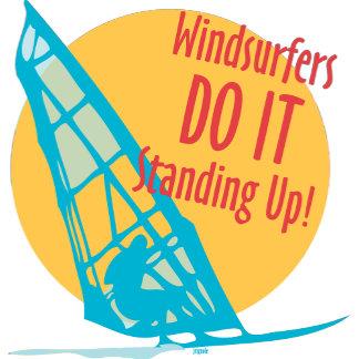 Windsurfers DO IT Standing Up!
