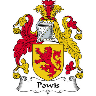 Powis Family Crest