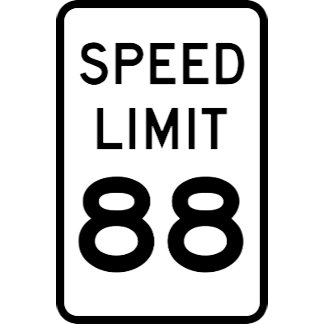 Speed Limit 88 #BTTF