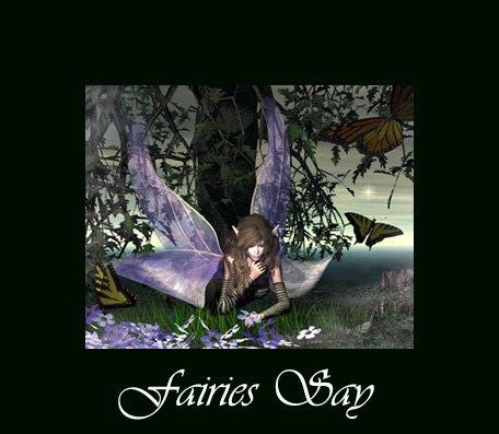 Fairies Say