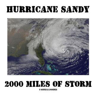 Hurricane Sandy 2000 Miles Of Storm