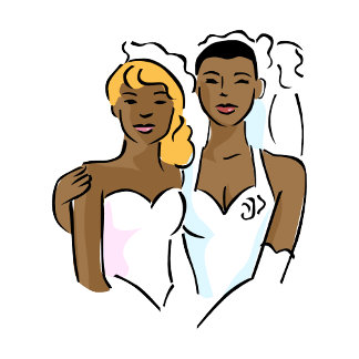 Beautiful Black Brides