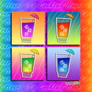 l. POP ART COCKTAILS