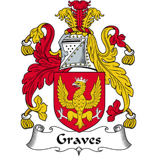 Graves Family Crest / Coat of Arms