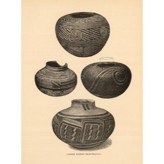 Ancient pottery, Tusayan