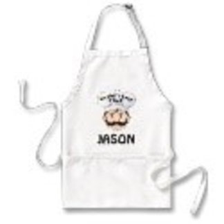 Personalized Worlds Best Chef Face Aprons