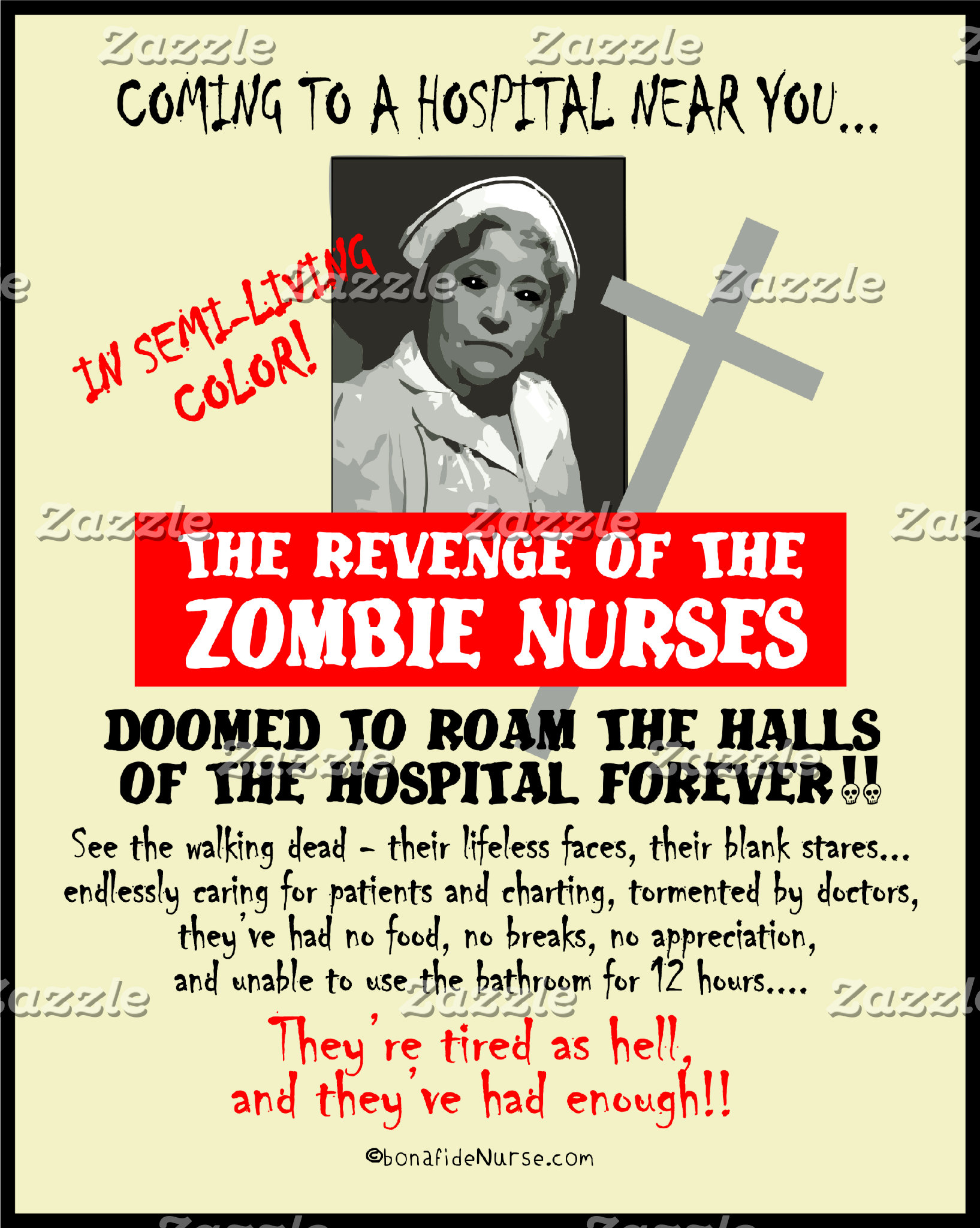 Revenge of the Zombie Nurses