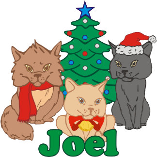 Christmas Cats Joel