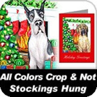 Christmas Stockings Hung