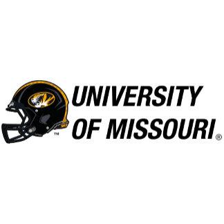 Helmet Left - University of Missouri (Custom)