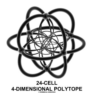 24-Cell 4-Dimensional Polytope (Geometric)
